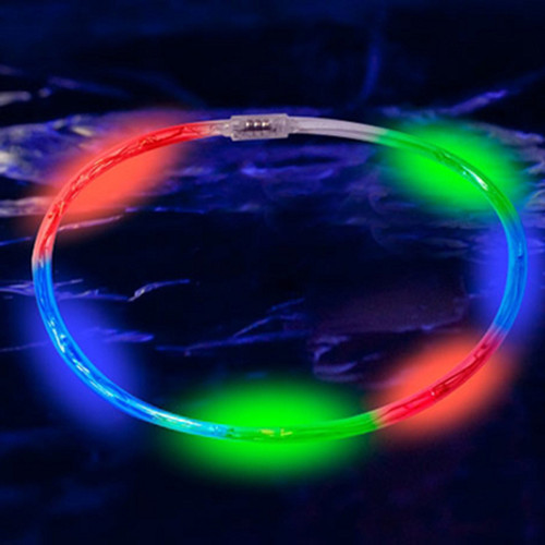 "23.5"" Pink LED Chaser Necklace"