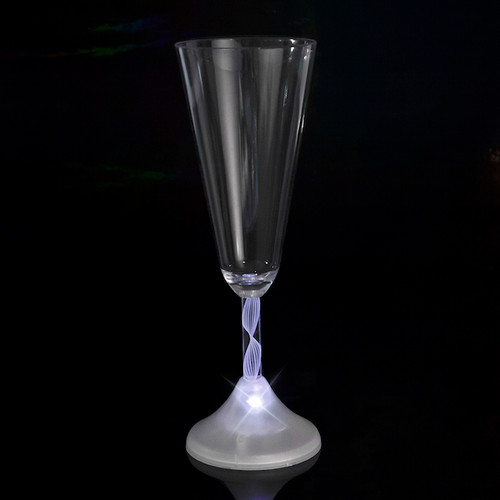 Light Up Champagne Cup White