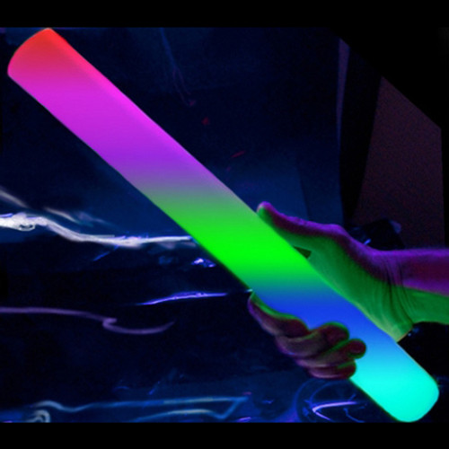 "16"" Multicolor LED Foam Baton (12 Pack)"