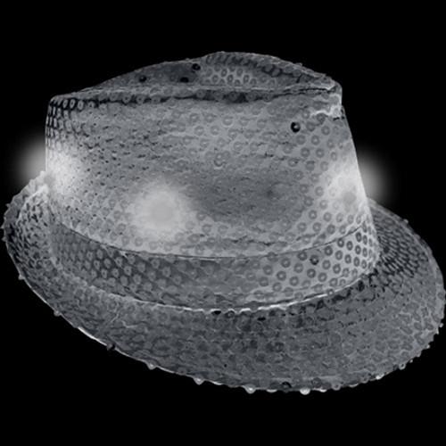Light Up Fedora Hat Black 3477e20c585