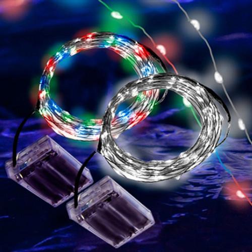 Copper LED 6ft String Light White
