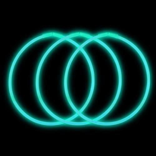 Aqua 22 Inch Glow Necklace 50pk (Economy)