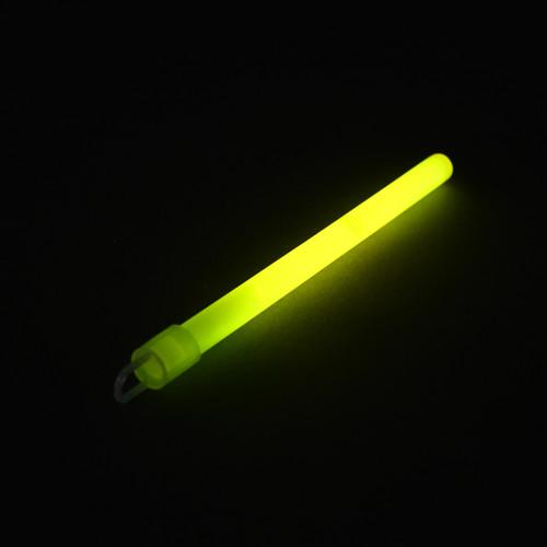 """6"""" Yellow Slim Glow Sticks (50 Pack)"""