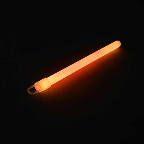 """6"""" Orange Slim Glow Sticks (50 Pack)"""