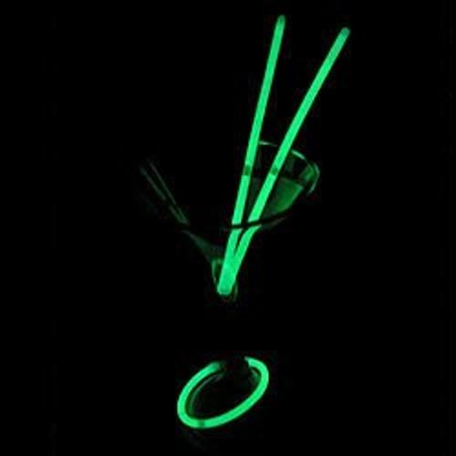 "6.5"" Green Super Bright Shorties (60 Pack)"