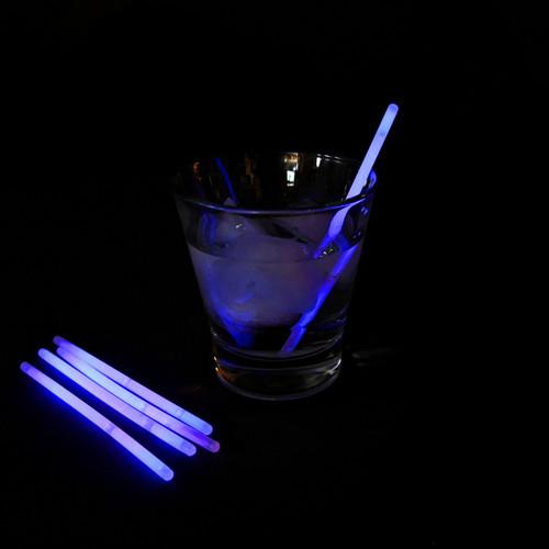 "5"" Purple Glow Stir Sticks (100 Pack)"