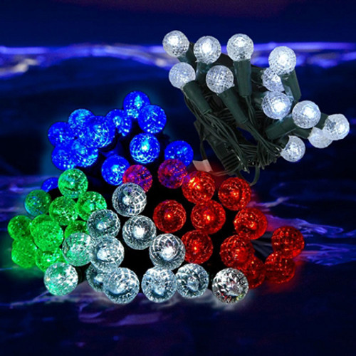 LED String Lights Waterproof 4 PK Pink