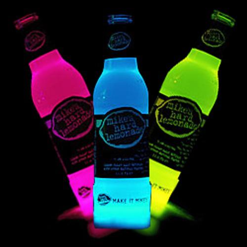 Glow Bottle Collars 6 PK Red