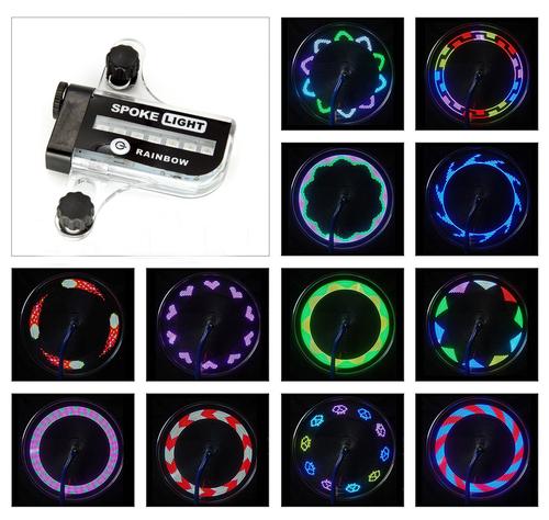 Multicolor Spoke Bicycle Wheel Lights
