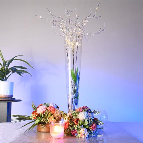 LED Dew Drop Bead Floral Decor
