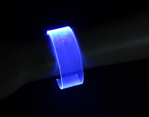 LED Magnetic Bracelet - Blue