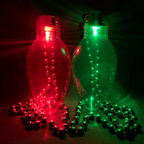 Assorted Jumbo LED Ornament Necklace (2 pack)