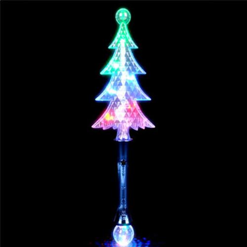 Light-Up Christmas Tree Wand - Light-Up Christmas Tree Wand Glowsource.com