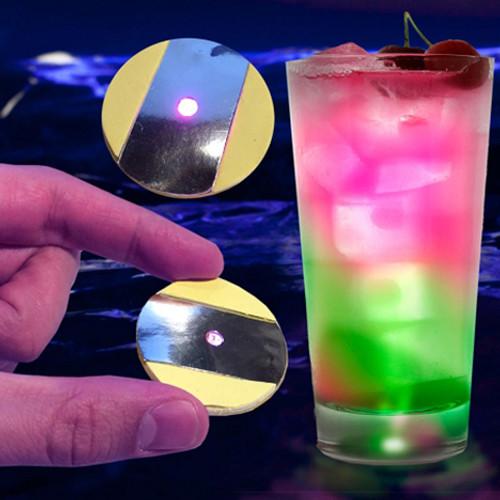 LED Cup/Bottle Illuminators (12-Pack)- Multicolor