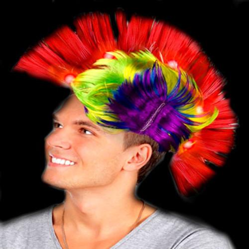 Multicolor Light Up Mohawk