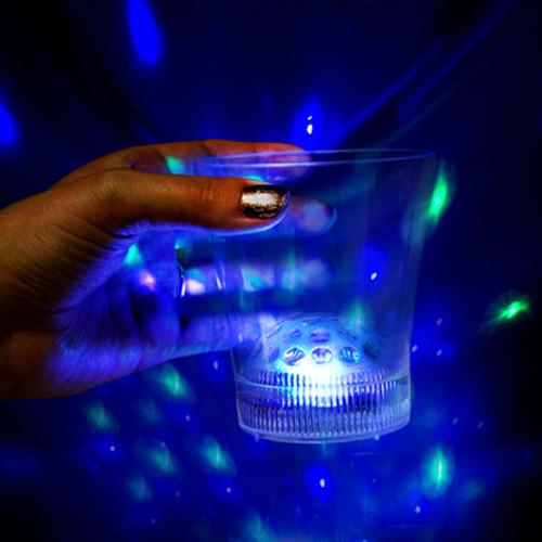 8OZ LED Disco Ball Cup