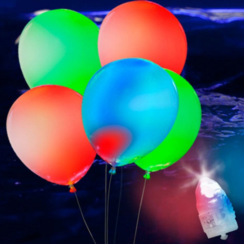 Assorted 25 Pack LED Balloons (NEW!)