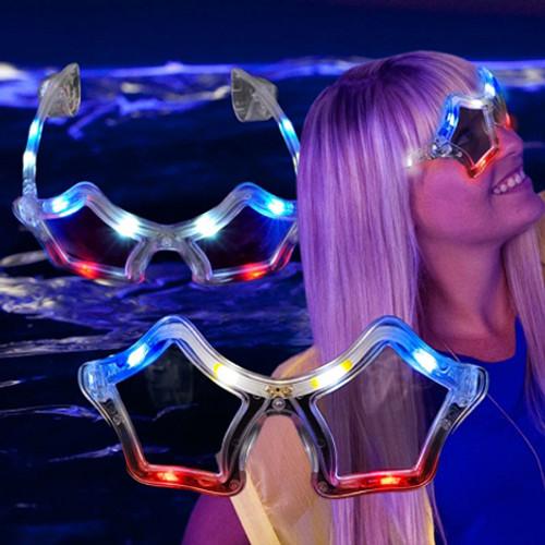 RWB Star LED Sunglasses