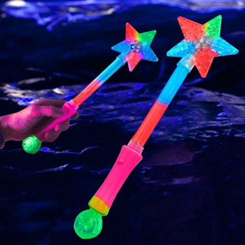 "16.5"" Star Wand with Orb"