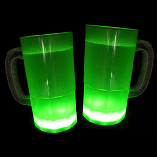 Glow Mugs 15 Pk - Green