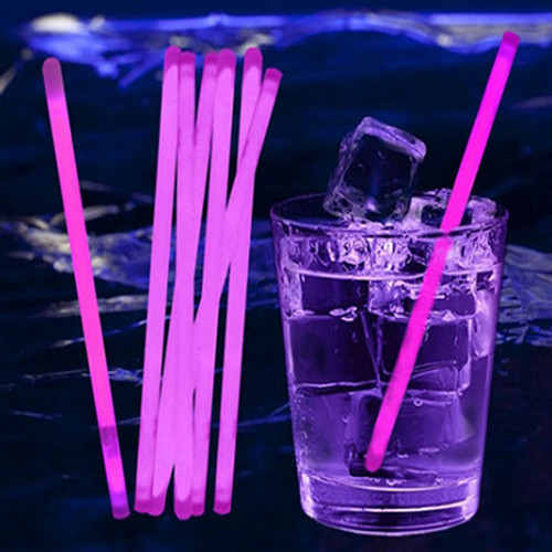 Glow Stir Sticks: Pink (100-Pack)