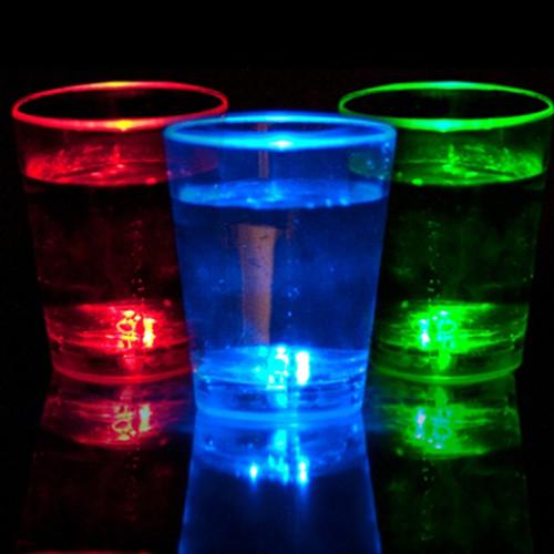 Liquid Activated Shot Glass