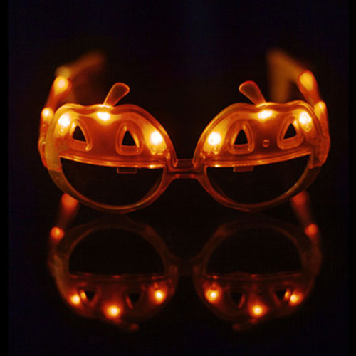 LED Light Up Pumpkin Sunglasses (NEW!) - 6 PACK