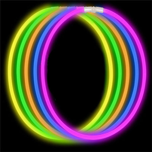 """22"""" Assorted Economy Glow Necklace (50 Pack)"""