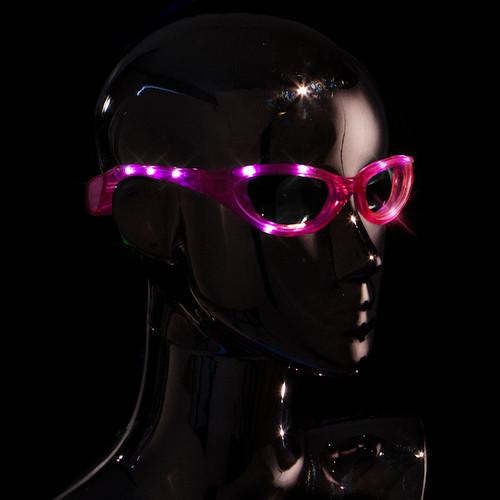 Pink Premium LED Sunglasses