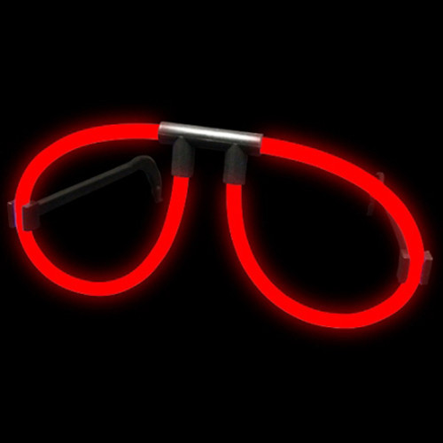 Red Glow Glasses (12 Pack)