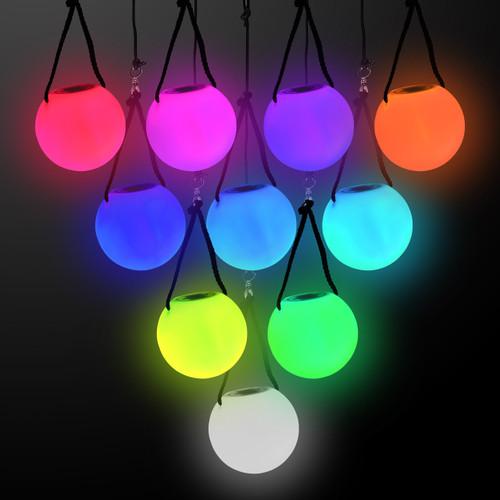 """3.5"""" Multicolor Poi Ball"""