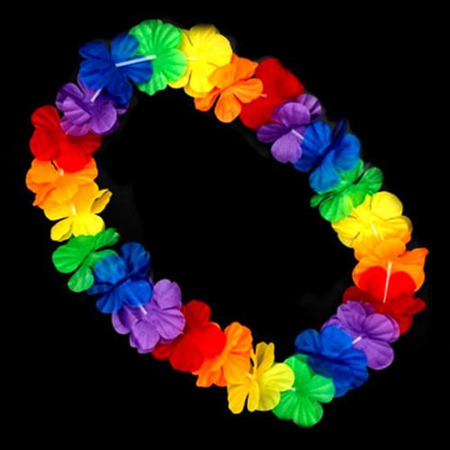 Flashing LED Hawaiian Lei: RGB
