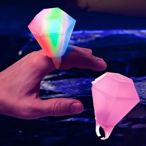 Assorted Light Up Giant Diamond Ring