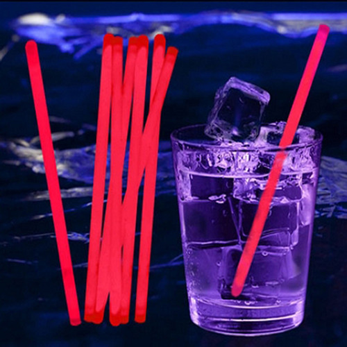Glow Stir Sticks: Red (100-Pack)
