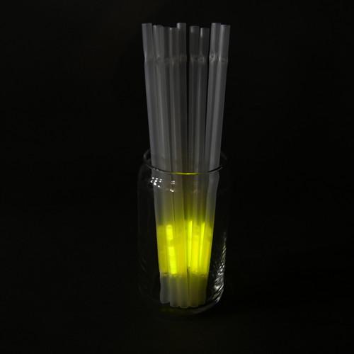 Yellow Glow Straws (25 Per Pack!)