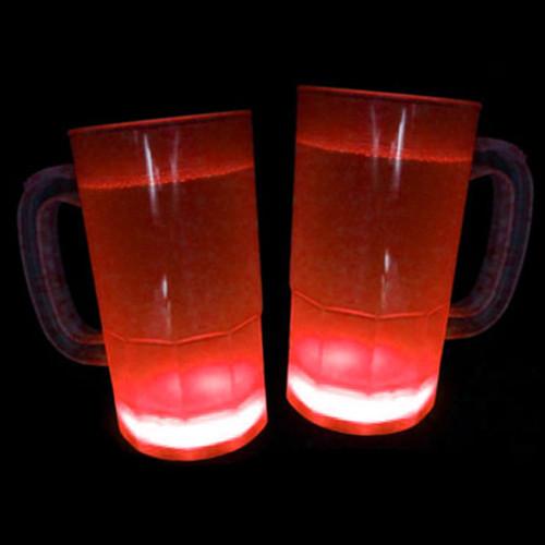 Glow Mugs 15 Pk - Red