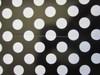 Wedding Polka Dot Popcorn Reception Favour Boxes Black