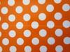 Wedding Polka Dot Popcorn Reception Favour Boxes Orange