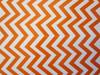 Wedding Chevron Mini Popcorn Reception Favour Boxes Orange