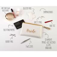 Wedding Day Emergency Kit: A Handy List