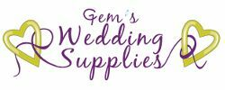 Gems Wedding Supplies