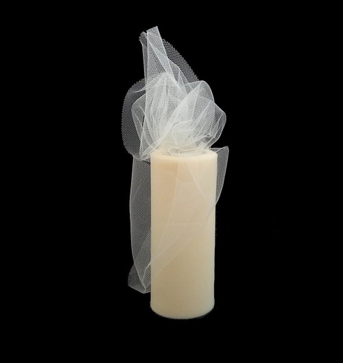 Ivory Wedding Tulle Rolls Decorations