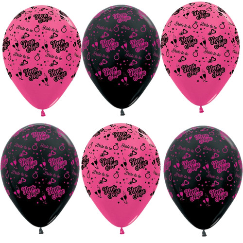 Hen's Night, Girl's Night, Bachelorette printed helium quality balloon decorations