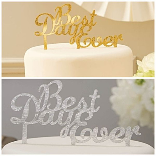 Wedding Best Day Ever Cake Topper Reception Decoration