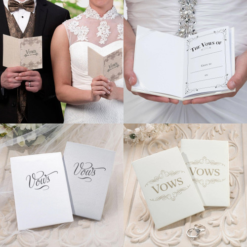 Wedding Ceremony Vows Booklets