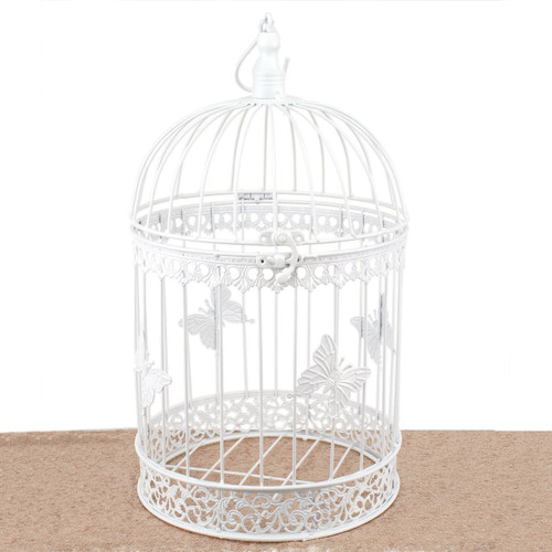 Bird Cage Wishing Well Wedding Reception Decorations