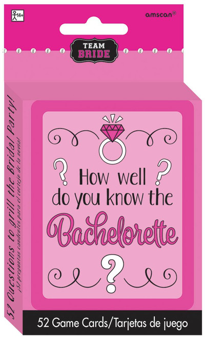 How Well Do You Know the Bride Cards Hens Night Party Game