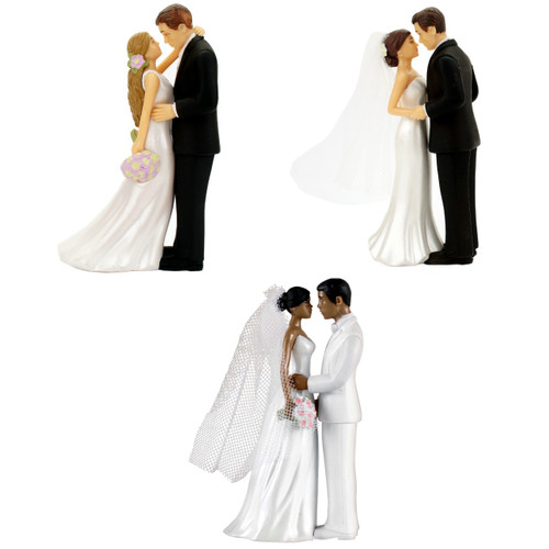 Bride and Groom Figurine Cake Topper Reception Decoration