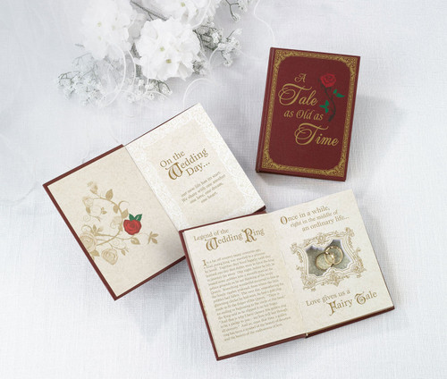 Fairytale Ring Book Alternative to Ring Box