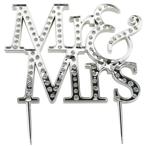 Mr and Mrs Wedding Cake Topper Reception Decoration
